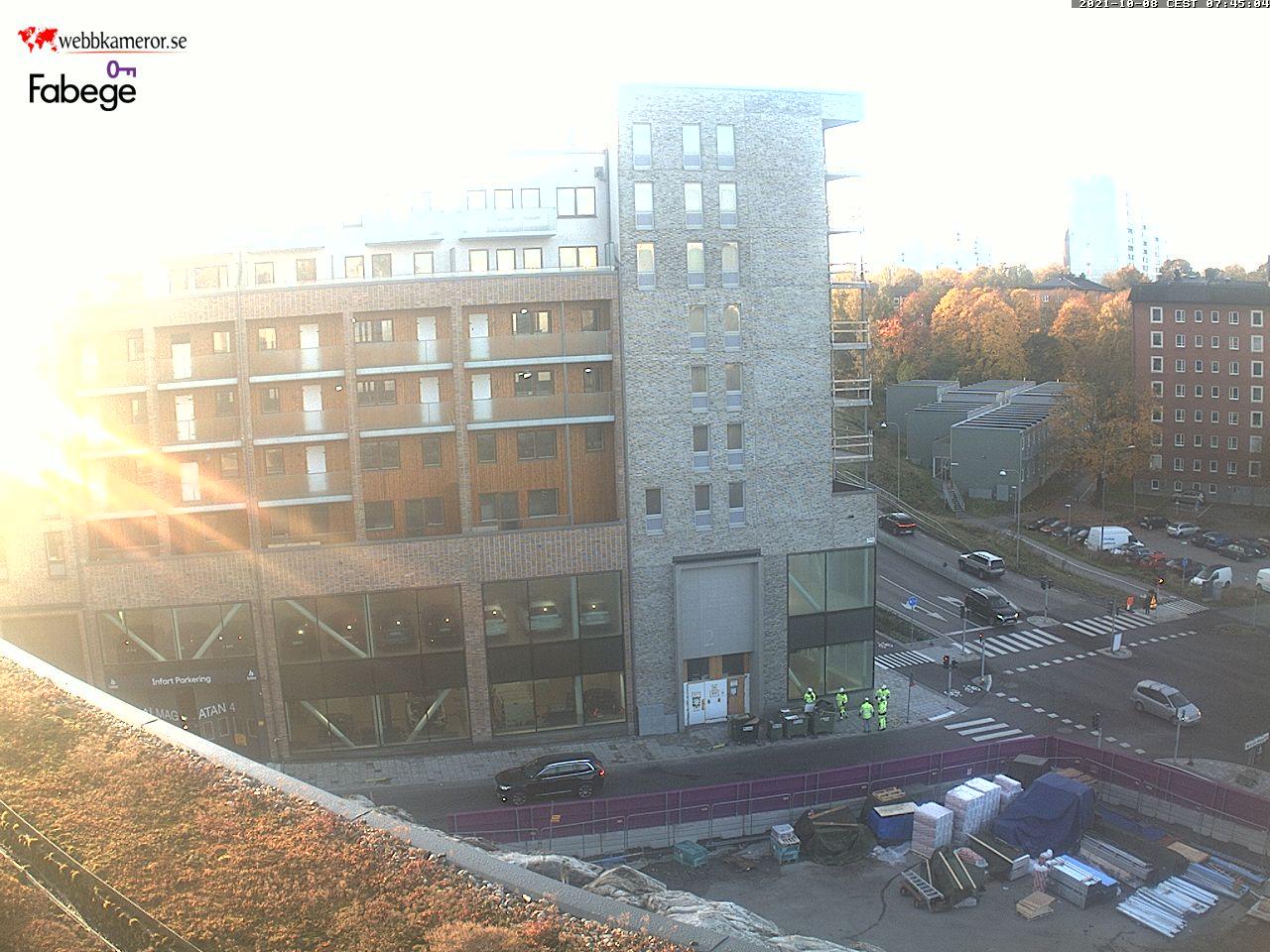 Webbkamera - Haga Norra i Solna
