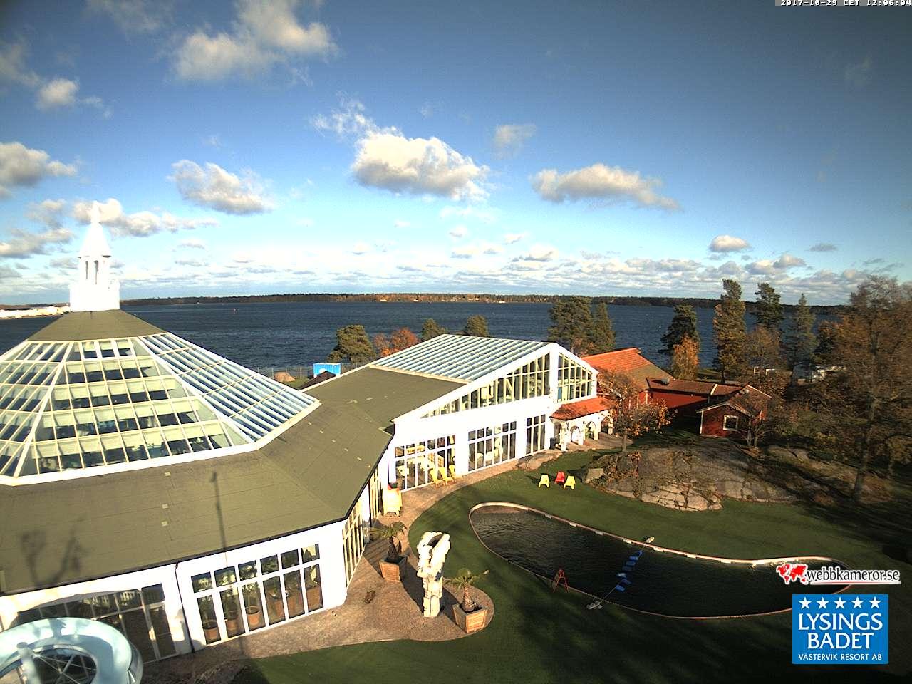 Webbkamera - Lysingsbadet, Västerviks Resort